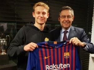 Барса пребори ПСЖ за изгряваща звезда на европейския футбол
