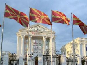 Двама българи са в ареста в Скопие, снимали парламента