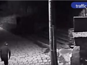 Спипаният на място крадец в Перущица - криминално проявен жител на ромската махала ВИДЕО