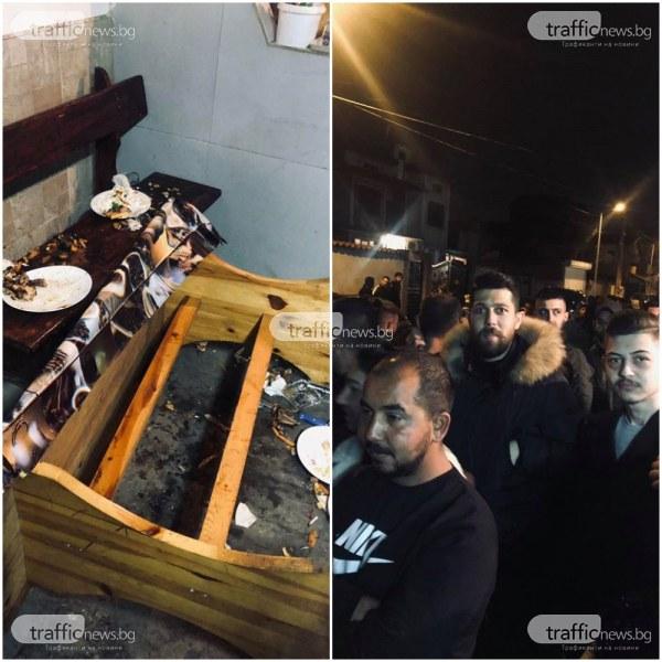 Ето какво се случва в момента в Столипиново, където гъмжи от полиция и разгневени роми ВИДЕО