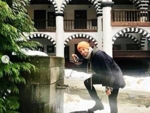 Гришо се разходи до Рилския манастир СНИМКИ