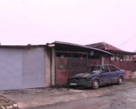 Пожар изпепели къща в Русе! Жена е с опасност за живота