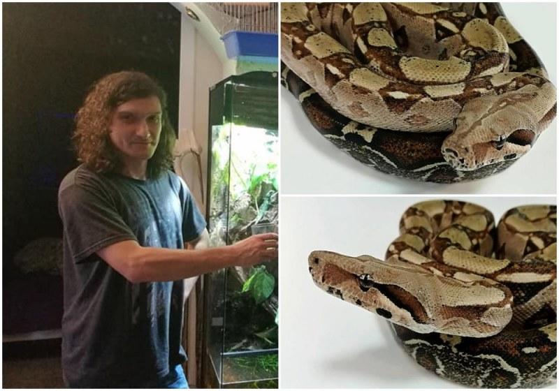 Къде е змията беглец? Кой и защо превърна търговски център в Пловдив в терариум? СНИМКИ и ВИДЕО