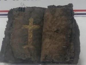 Откриха Библия на 1200 години СНИМКИ