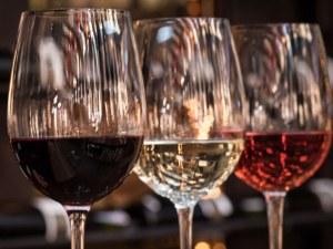 Синьо вино изненада ценителите на алкохола СНИМКИ