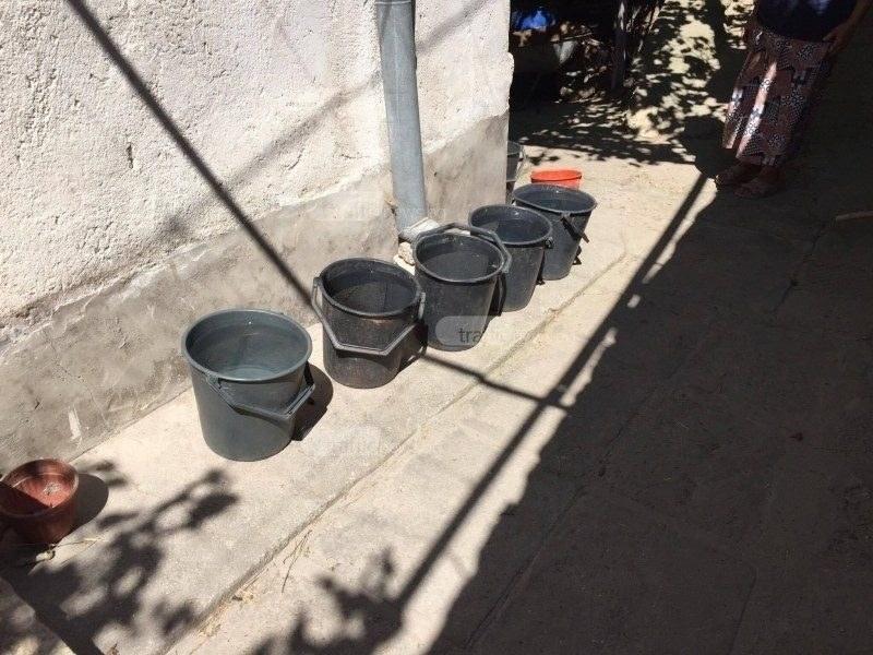 Шест села в Пловдивско останаха на сухо днес