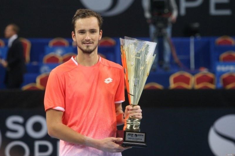 Руснак спечели титлата от тенис турнира в София
