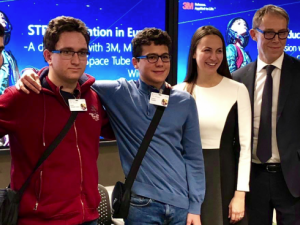 Български ученици са сред победителите в проекта Space Tube