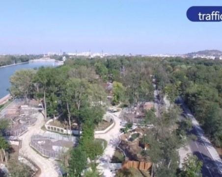Кметът на Пловдив инспектира зоопарка днес
