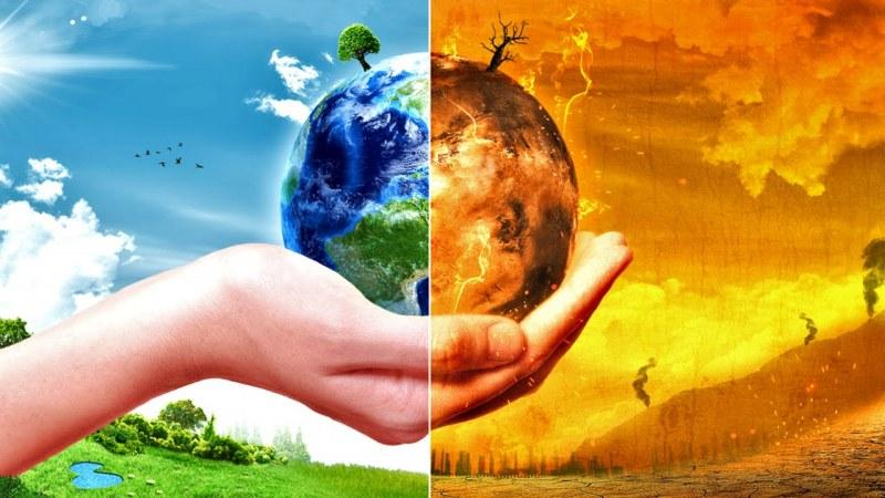 Климатичните промени се смятат за най-голямата заплаха в света