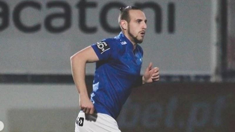 Стивън Петков вкара гол красавец в Португалия ВИДЕО