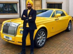 Милиардер си купи шест автомобила Rolls-Royce, за да му отиват на тюрбаните СНИМКИ