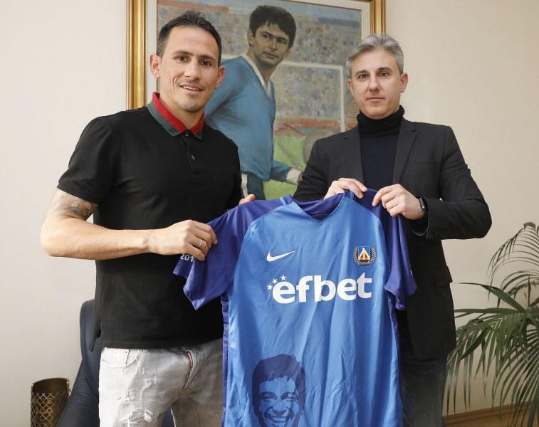 Трикратен шампион с Левски се завърна на Герена