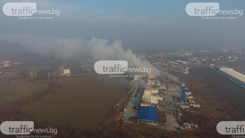 Овъглени халета, хора без работа… Кой подпали завода във Войводиново?