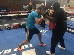 Тервел Пулев се готви за Пловдив със световен шампион в тежка категория