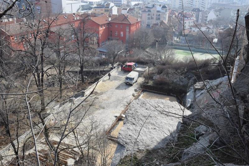 Виадуктите на Бунарджика възкръсват, хълмът е строителна площадка - форсират ремонта СНИМКИ
