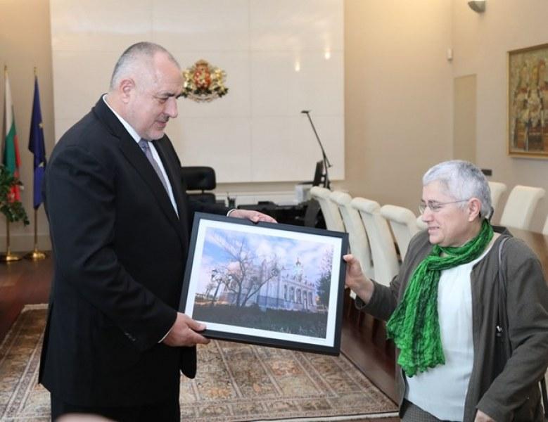 Желязната църква ще виси в кабинета на Борисов