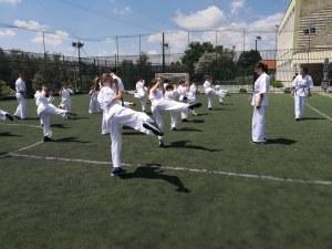Демонстрация на най-старото българско бойно изкуство в пловдивската зала PowerFit