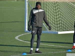 Нигериец в Локо с тежка контузия, аут е до края на сезона