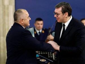 Борисов бе удостоен с