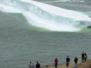Крадци задигнаха 30 тона... вода от айсберг