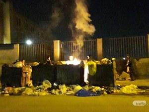 Наркомани запалиха казани в Столипиново, деца се снимат с пламъците СНИМКИ