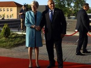 Бойко Борисов разговаря с Мей по телефона за Брекзит