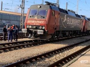 Сменят номера на локомотива на дерайлиралия влак в Пловдив, не бил на късмет СНИМКИ+ВИДЕО