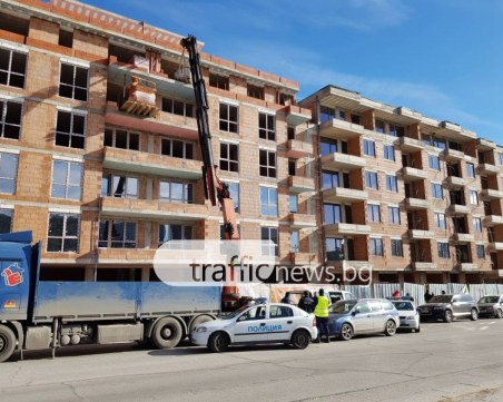 Месец след като работник загина на строеж в Пловдив: До 15 бона глоба грози работодателя му