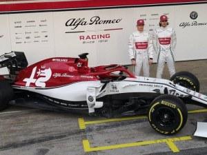 Отборът на Заубер показа новия си болид във Формула 1 СНИМКИ