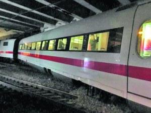 Високоскоростен германски влак с 240 души дерайлира в Базел