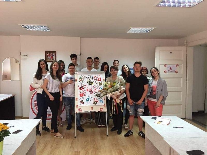 Пловдивски зрелостници се подготвят безплатно за матурата по литература СНИМКИ