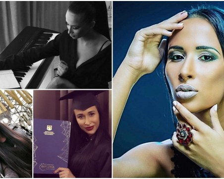 Красиви и работливи: Певицата Цветина пише сама песните си и учи ... криминалистика  СНИМКИ