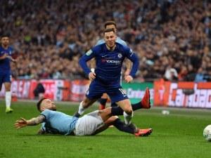 Манчестър Сити с Купата на Лигата след драма срещу Челси