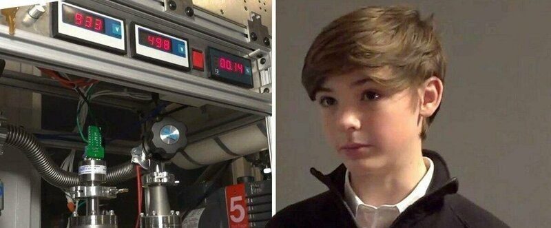 13-годишен си направи термоядрен реактор СНИМКИ