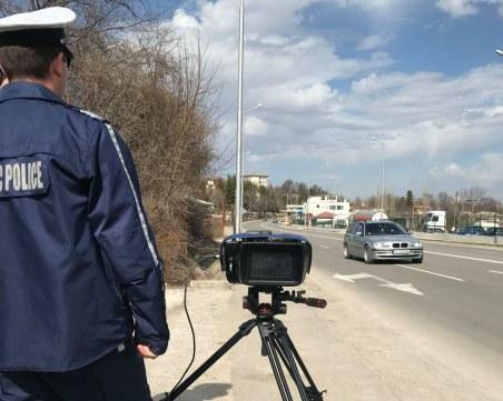 Бързак профуча със 130 км/ч през Каспичан, ще плати 975 лева