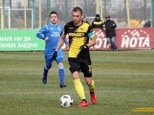 Капитанът на Ботев се контузи, пропуска мача с Дунав