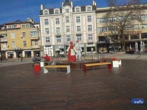 Пижо и Пенда се появиха на центъра в Пловдив СНИМКИ