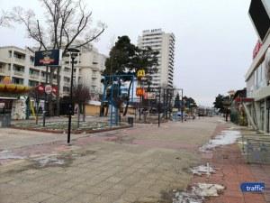 Призрачен град? Чернобил? Не, това е Слънчев бряг… през февруари СНИМКИ