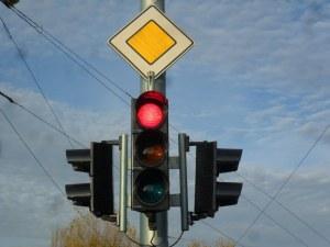 Пускат нов светофар на Карловско шосе