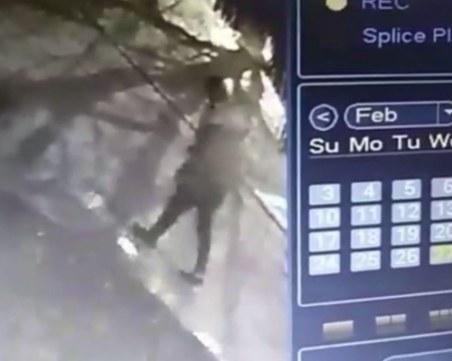 Камера е заснела предполагаемия убиец на таксиметров шофьор край Разград