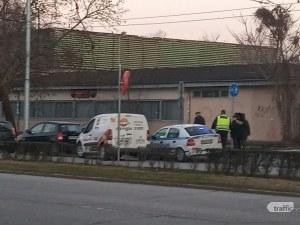 Верижна катастрофа в пловдивския Кючук! Три коли се нанизаха една в друга СНИМКИ