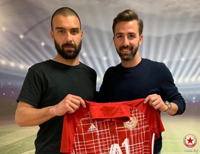 ЦСКА взе защитник от Португалия