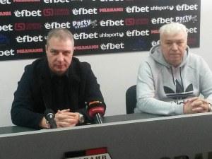 Сашо Станков в Локо: Не съм дошъл да сменям треньора