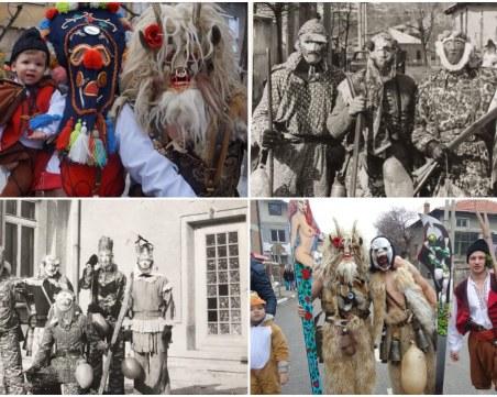 Карнавалите в Първенец: Традиция, предавана от баща на син, поколения наред СНИМКИ и ВИДЕО