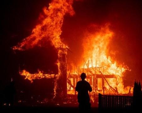 Младежи извадиха безпомощна баба от горяща къща в Кюстендилско