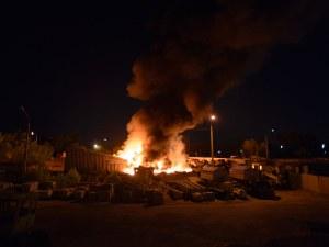Мъж запали гардероба на съпругата си и предизвика пожар