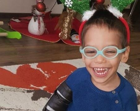 3-годишният Даримир има нужда от нашата помощ, за да живее пълноценно