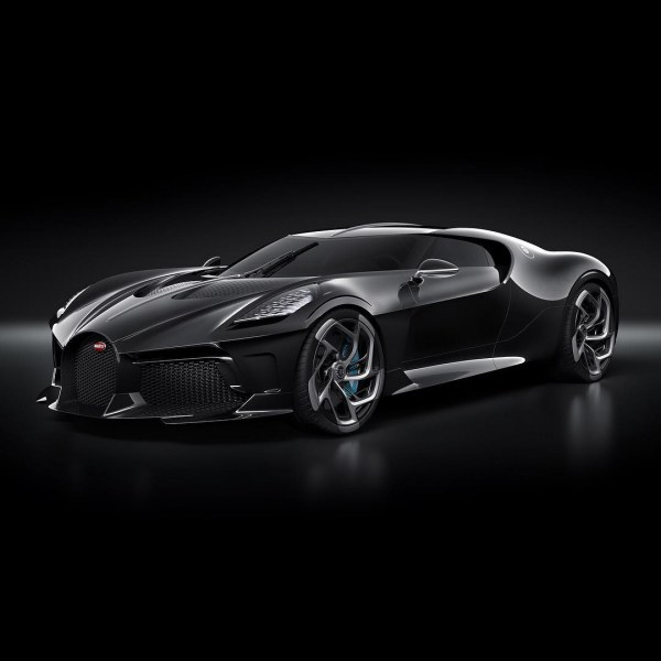 Черната перла на Bugatti – уникален модел за над €16 милиона ВИДЕО+СНИМКИ