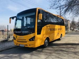 В нов, по-голям и модерен училищен автобус ще се возят децата от пловдивски села
